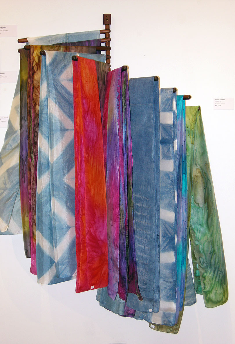 Silk Salt Dyed Scarves