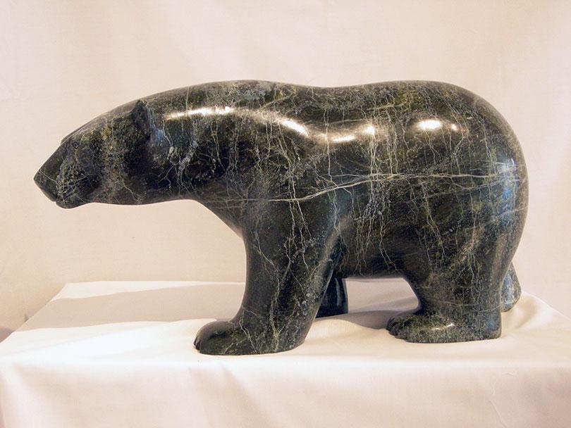 Walking Bear 18648 by Ashevak Adla