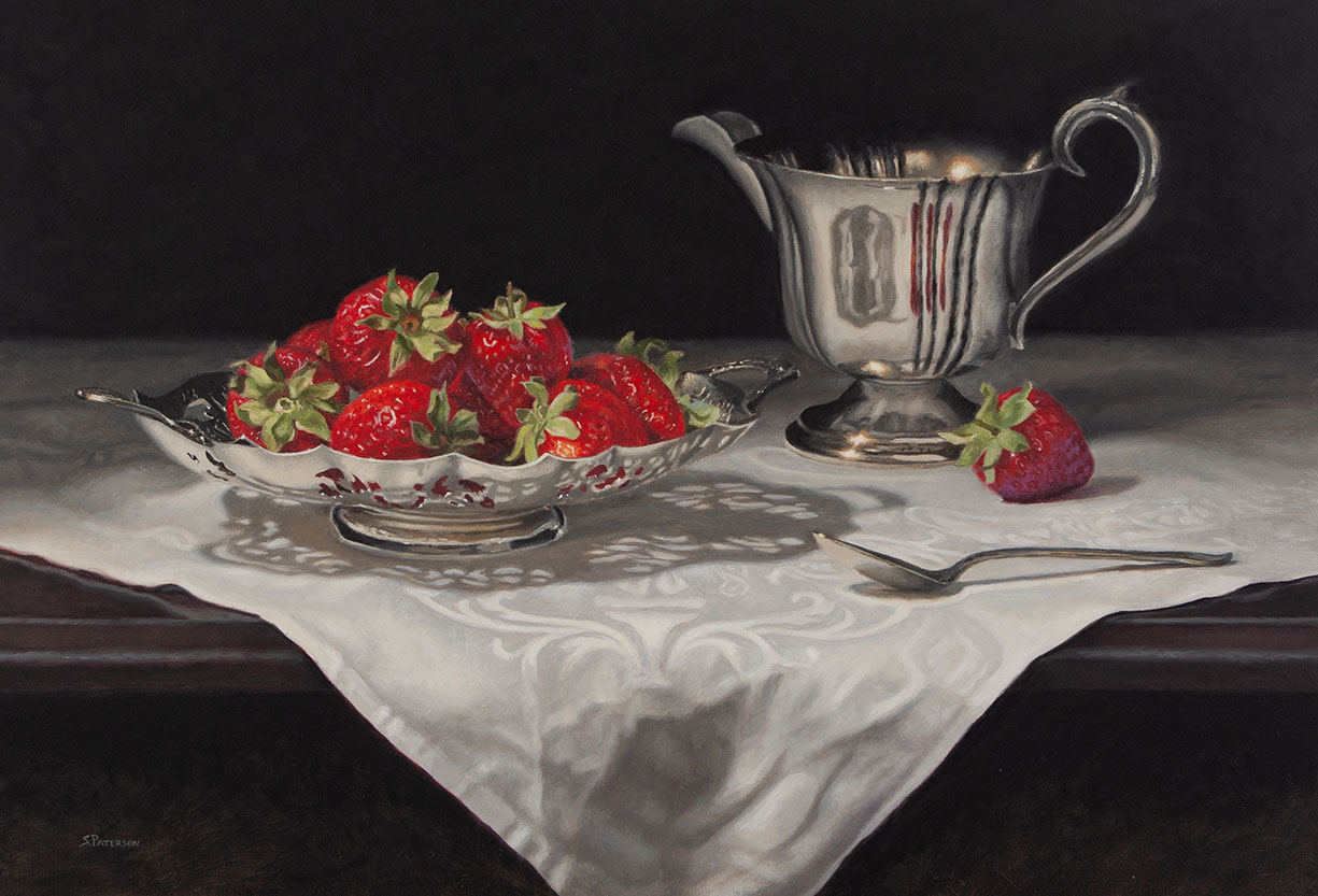 Strawberries and Cream by Susan Paterson