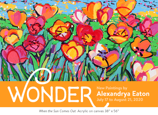 """Wonder""  New Paintings by Alexandrya Eaton"