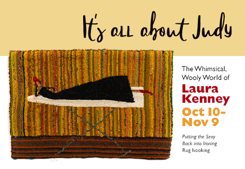 It's All About Judy - The Whimsical Wooly World of Laura Kenney