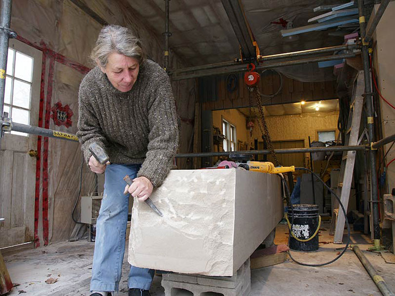 Heather Lawson invited to conduct stone carving workshop