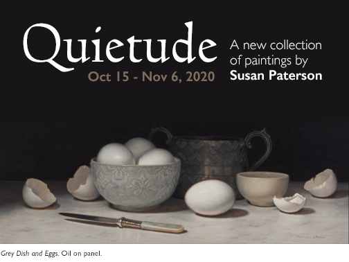 Quietude - A New Collection of Paintings by Susan Paterson