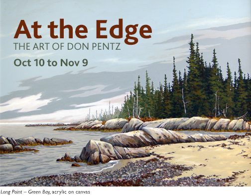 At the Edge - The Art of Don Pentz
