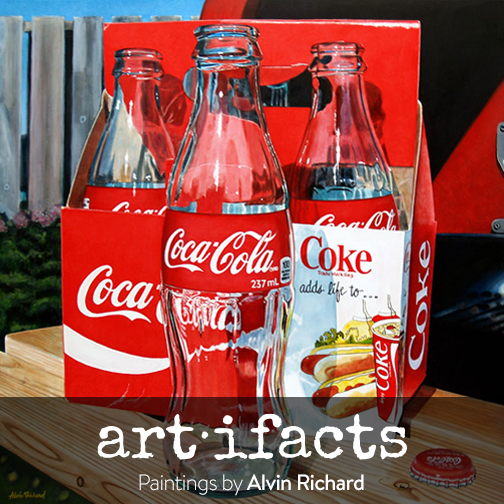 """""""art • ifacts""""  Paintings by Alvin Richard"""
